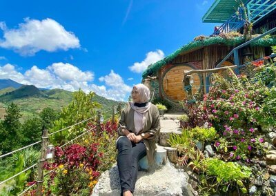 منزل الهوبيت المتواضع في كوتا كينابالو (10)