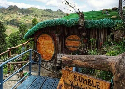 منزل الهوبيت المتواضع في كوتا كينابالو (3)