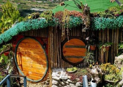 منزل الهوبيت المتواضع في كوتا كينابالو (4)
