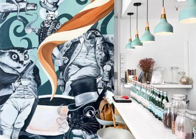 10. The Lolla Co – a quiet cafe in the middle of a busy city
