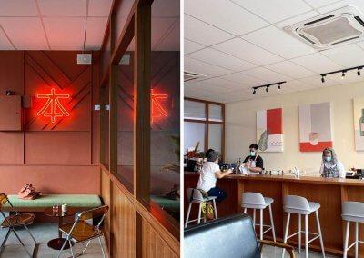 17. Half & Haru Coffeebar – retro vibes & matcha toast Address: Lot B-1-05, 1st Floor, The Hub SS2, 19 Sentral, Jalan Harapan, Petaling Jaya, 46300 Selangor Opening hours: Tue – Sun 11AM-8PM (Closed on Mondays) Telephone: 03-7931 1990