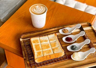 2. 65c Ondo Bakery Cafe – Japanese bakery with shokupan Address: No. G-11, Pangsapuri Eco Bloom, Tingkat Eco Meadows 1, 14100, Simpang Ampat, Penang Opening hours: Mon – Thu 9AM-10PM | Fri – Sun 9AM-11PM