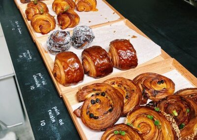 7. One Half x Ilaika – coffee and bakery inside a specialty store