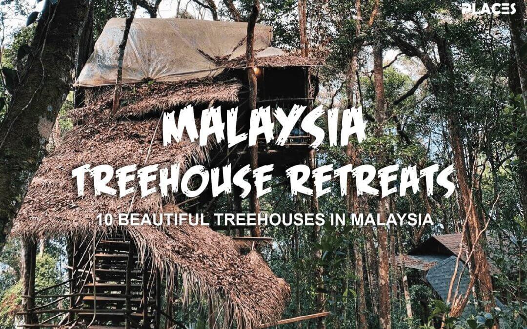 اجمل 10 منازل فوق الاشجار في ماليزيا