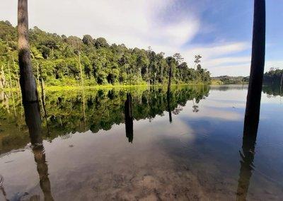 بحيرة المرآة في شاه علم (1)