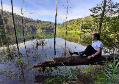 بحيرة المرآة في شاه علم (12)