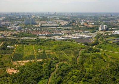 تحويل القرية القديمة الى مدينة الصناعية الحديثة (12)