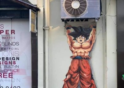 فن الشارع في الور ستار قدح (4)