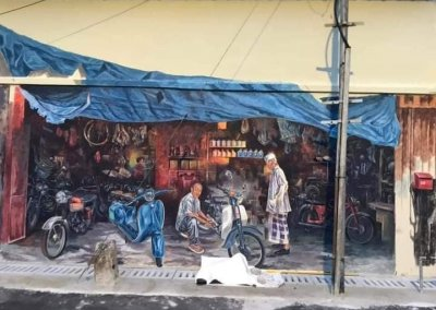 فن الشارع في الور ستار قدح (8)